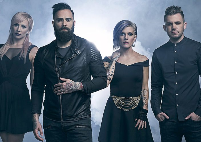 PHOTO PROVIDED Skillet headlines the Christian music Winter Jam 2018 Tour Spectacular, coming Jan. 19 to the Bryce Jordan Center.
