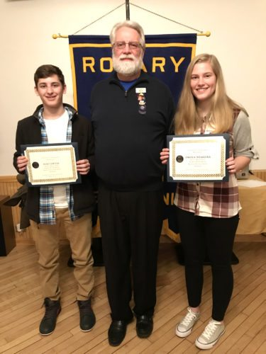 Renovo Rotary students