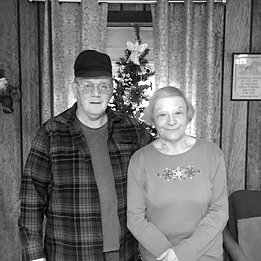 PHOTOS PROVIDED Karen and Galen Stone seen recently.