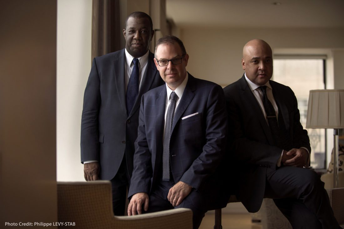 PHOTO PROVIDED Jazz pianist Bill Charlap and his trio will perform Tuesday at Penn State.