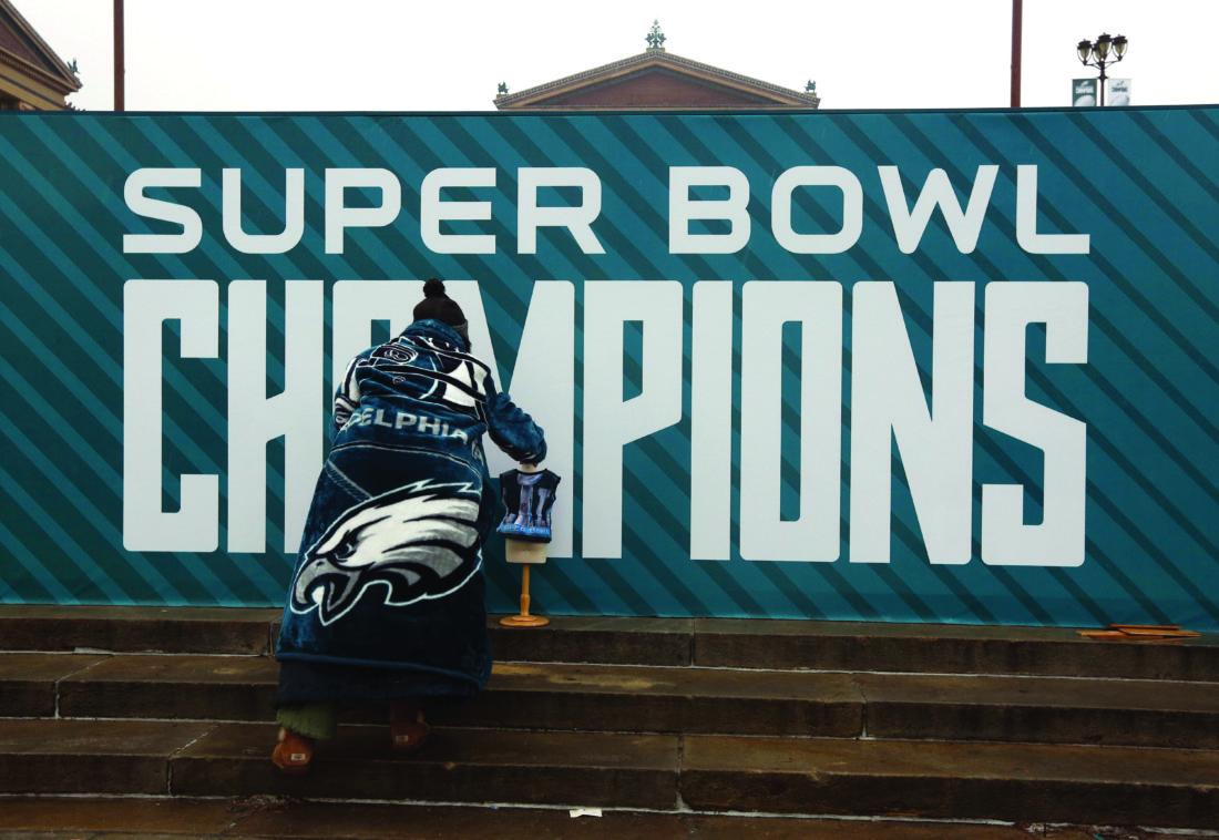 Eagles fan billed for US Bank Stadium chair stolen after Super Bowl