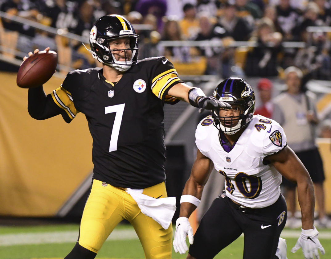 cb384aaefd34 Pittsburgh Steelers  offense seeks success in Baltimore Ravens ...
