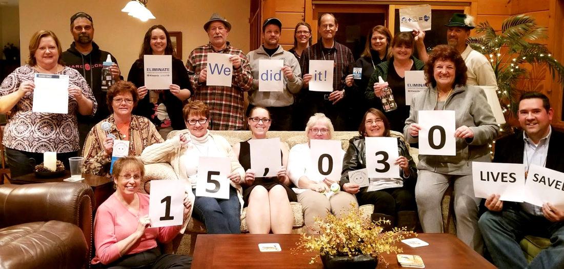 Kiwanis Club of BENV Fulfills Eliminate Pledge - Lock Haven Express