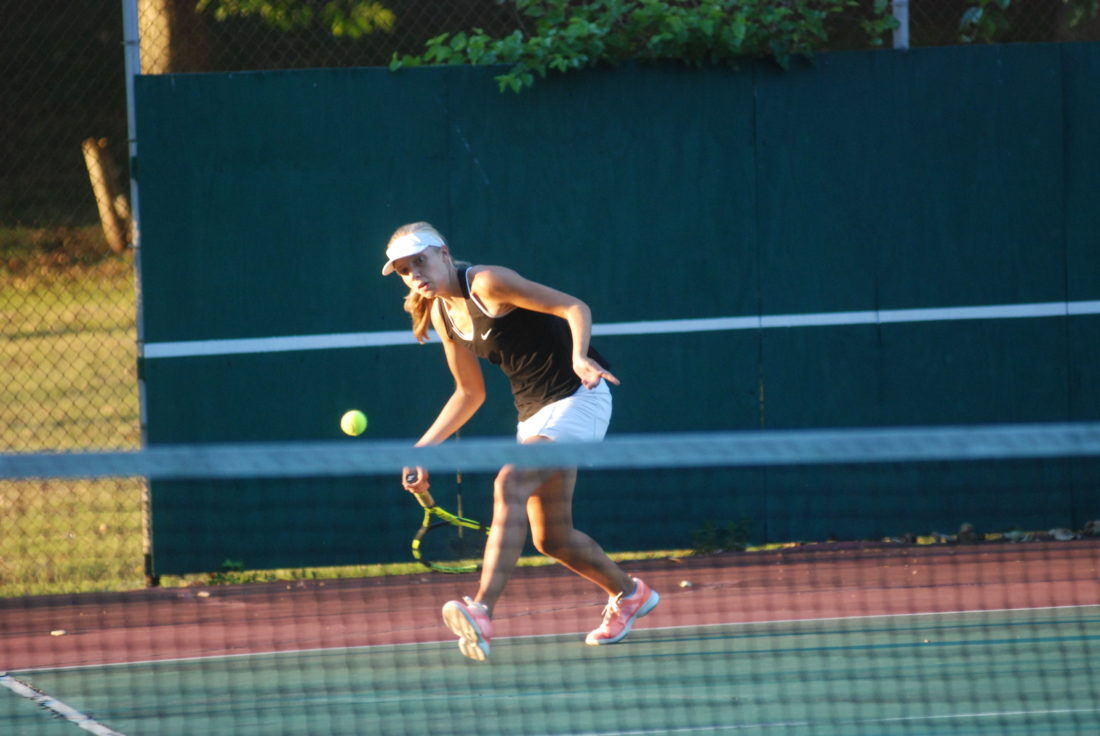 Tiger Tennis Dominant In Win Over Claymont News Sports Jobs