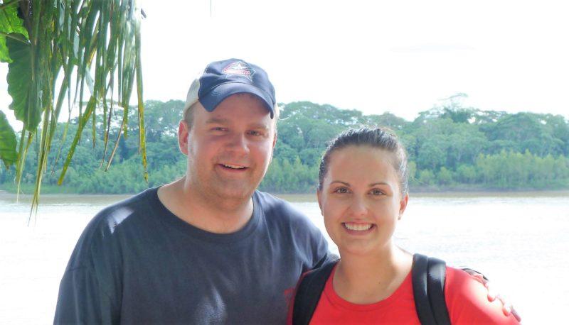 Megan Schultz and Edward Szczypinski