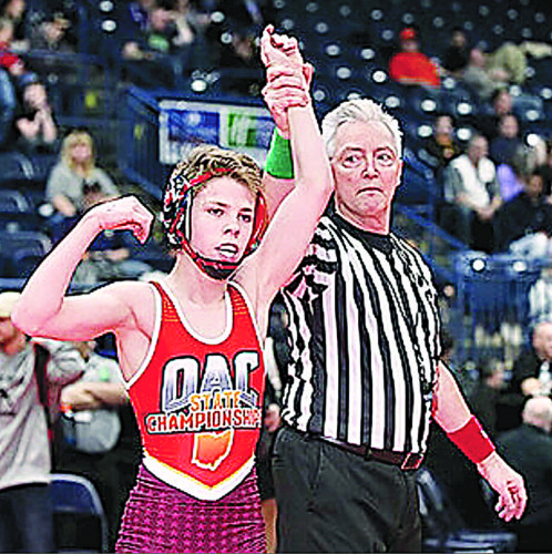 Warren's Peyten Kellar was scheduled to compete in the United States Marine Corps Cadet Nationals this month in Fargo, N.D., but had to sit out the event due to a shoulder injury.   Photo  provided