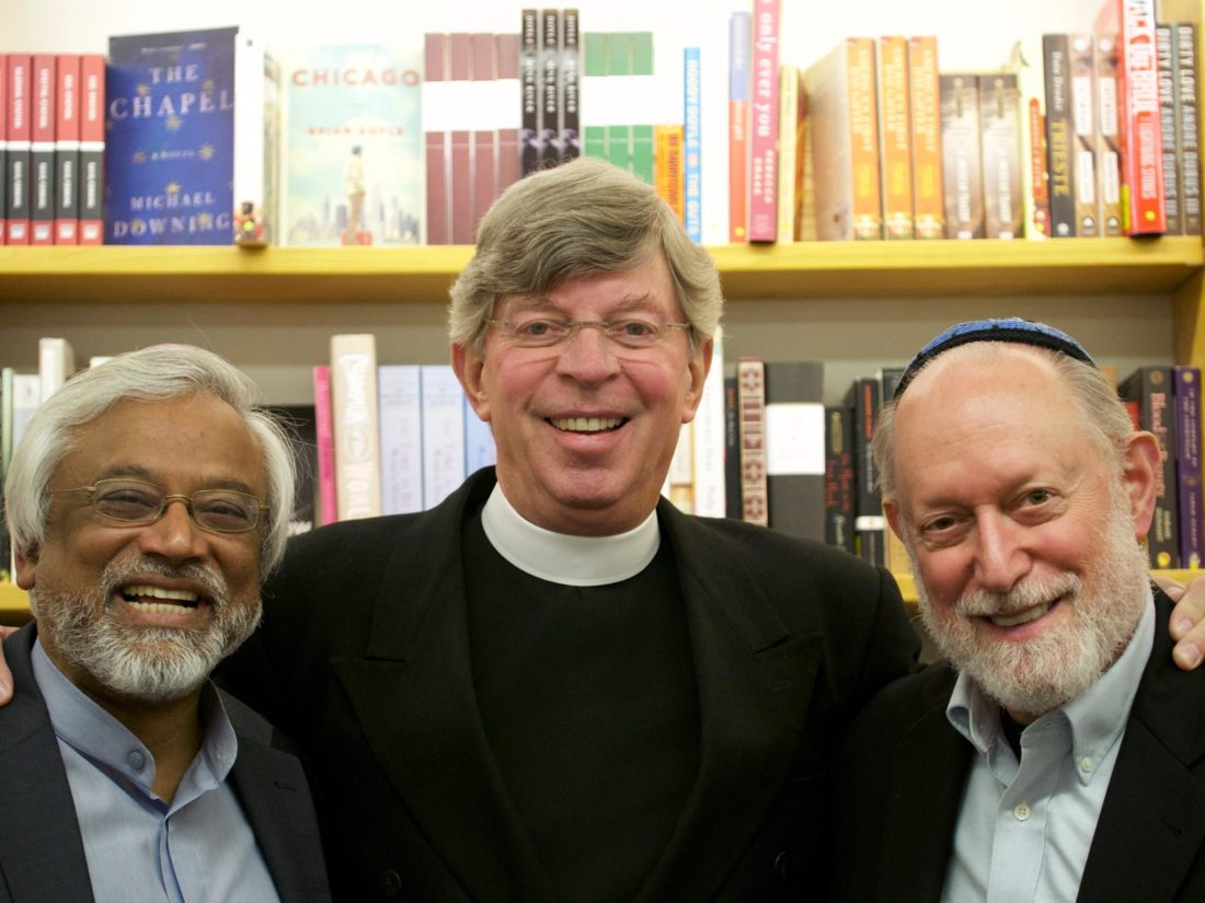 Photo submitted by Interfaith Amigos Pictured are the Interfaith Amigos, from left to right, Imam Jamal Rahman, Pastor Don Mackenzie and Rabbi Ted Falcon.