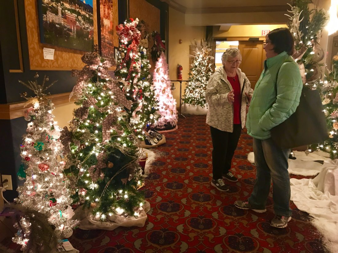 trees go up for auction news sports jobs marietta times - When Does The Christmas Tree Go Up
