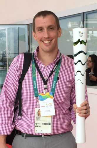 Photo submitted by  Ben Fischer Marietta native Ben Fischer covered the 2016 Summer Olympics in Rio and will head to South Korea for the winter games on Feb. 3.