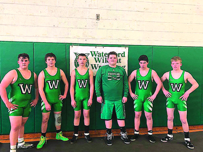 Courtesy photo The Waterford High wrestling team competed against Fort Frye in an afternoon dual match Wednesday in Waterford.