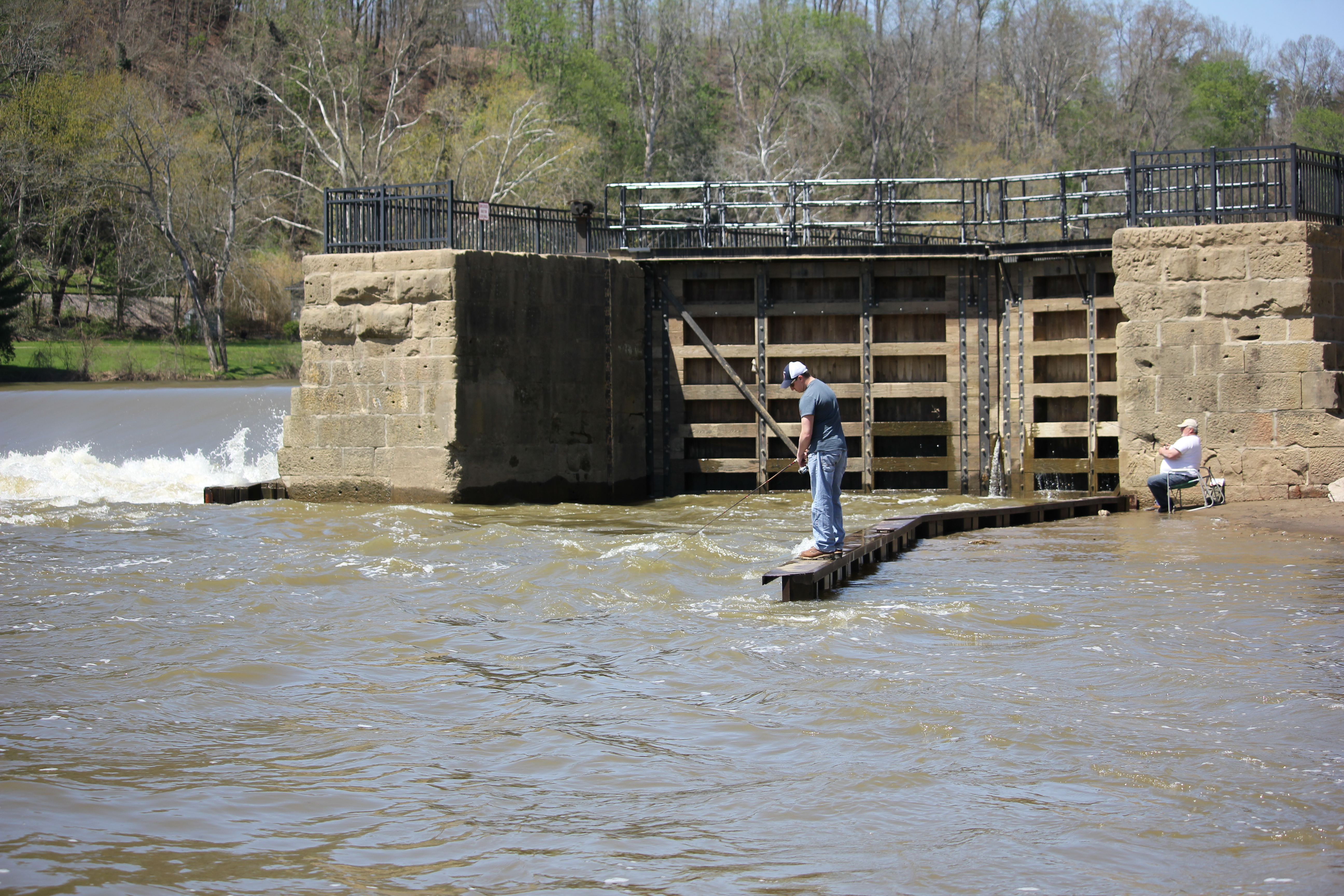 Anglers anxious to get their hooks into local rivers for Local fishing ponds