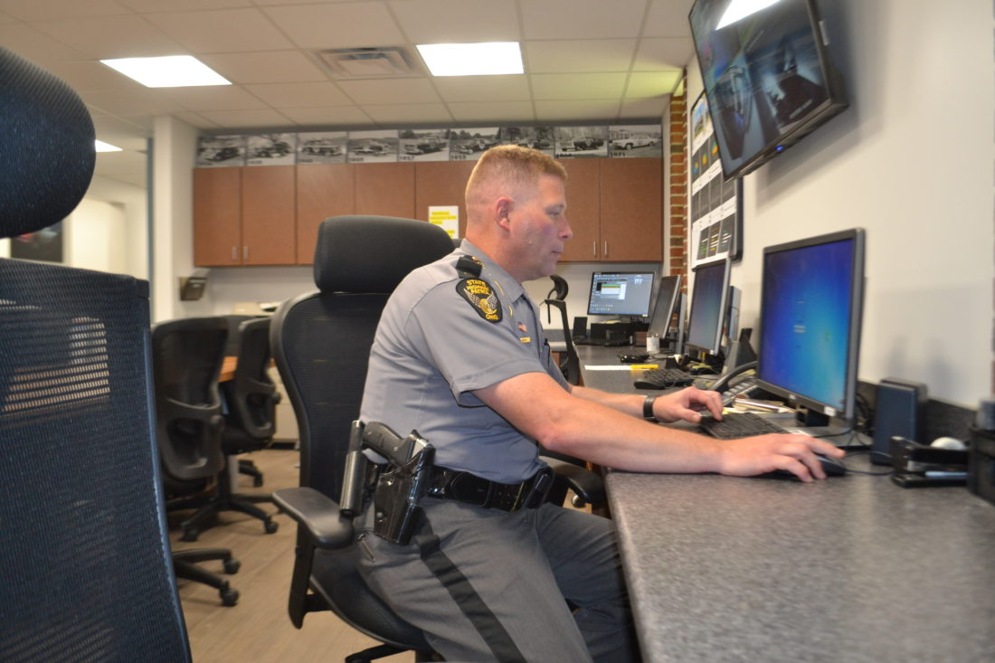 Patrol settles into revamped office | News, Sports, Jobs - Marietta ...
