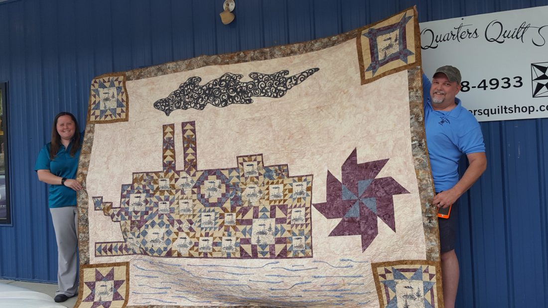 Qa Quilt To Be Raffled For Sternwheel Org News Sports Jobs