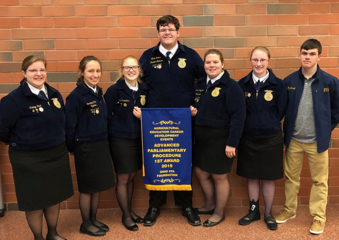 Waterford Ffa Takes First In State Compe Ion News Sports Jobs Marietta Times
