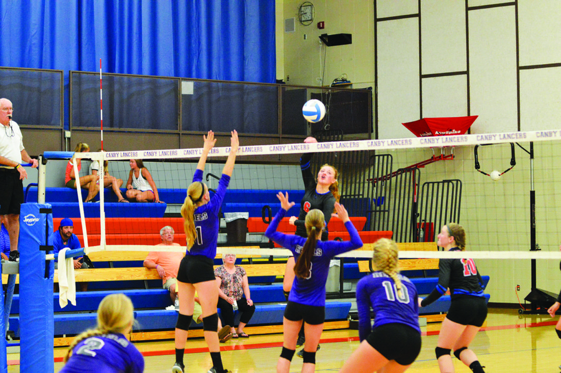 PREP VOLLEYBALL: Canby's Varcoe ready to carry on dream of playing college volleyball