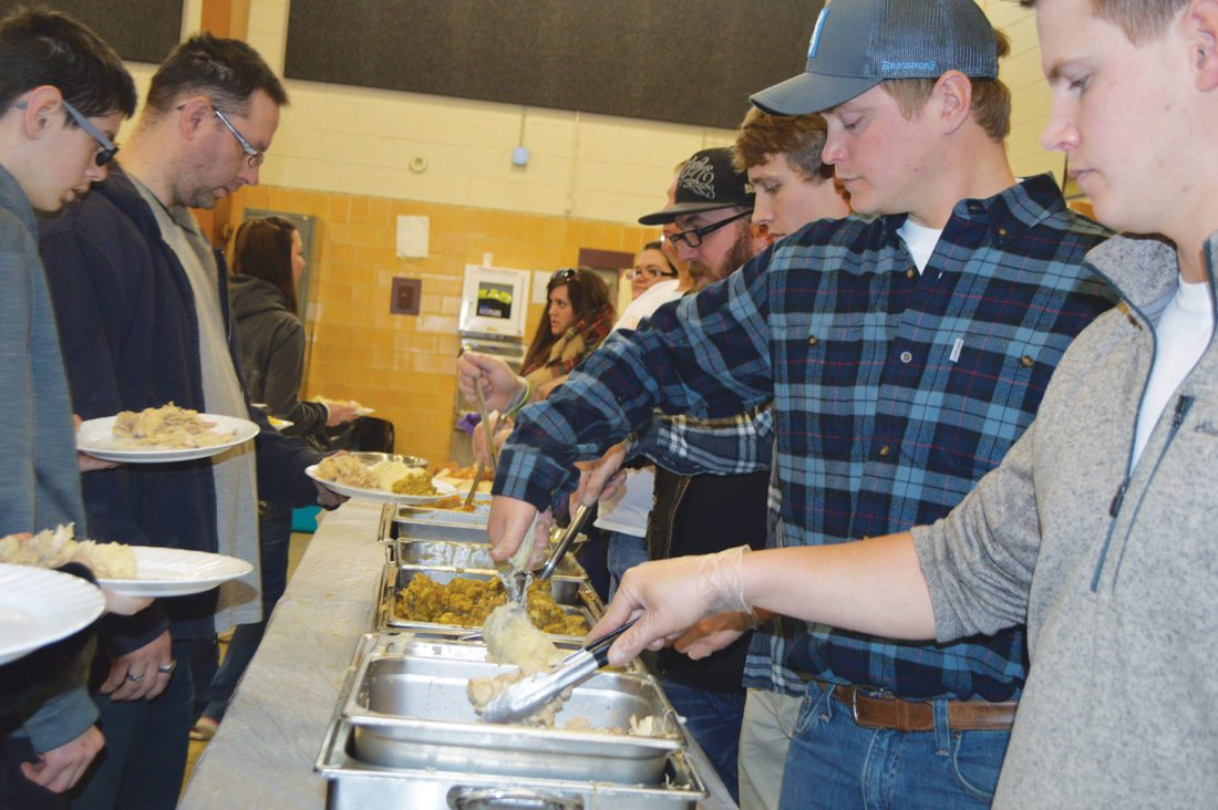 Food, fellowship, friendship enjoyed at Thanksgiving community dinners