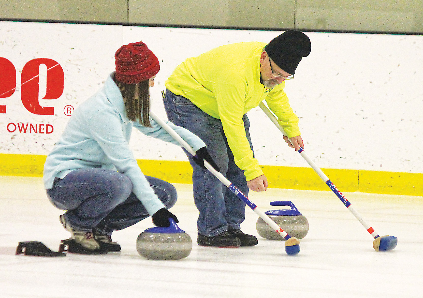 Curling es to Marshall