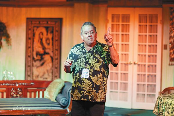 Jonathan Lehman founded ProArts Inc. in Kihei and was an active member of Maui's theater community.  JACK GRACE photo