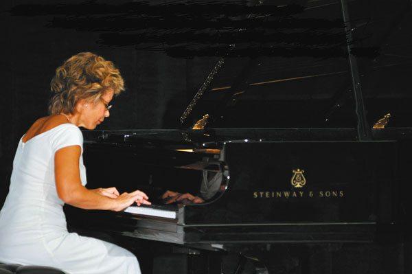 Pianist Damira Feldman * Saturday; photo provided by the artist.