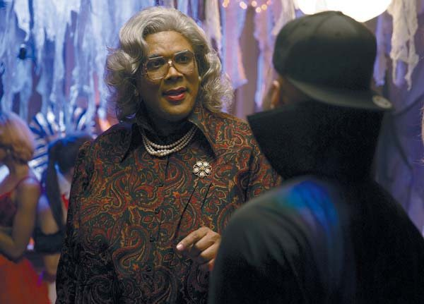 "Tyler Perry stars in ""Boo! A Madea Halloween"" Lionsgate photo via AP"