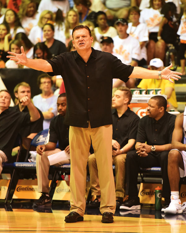 'There's no event out there that puts eight really good teams in an event. Most of them are two or three or four and you get a couple of cupcakes.' – Oklahoma State coach Brad Underwood: The Maui News / MATTHEW THAYER photo