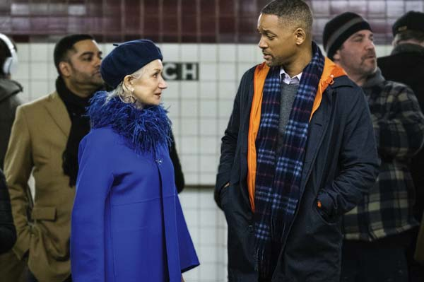 "Helen Mirren and Will Smith star in ""Collateral Beauty."" Warner Bros. photo via AP"