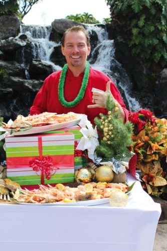 Chef Craig Erickson of Ka'anapali Beach Club will present a Christmas Day buffet from 4 to 8 p.m. at the poolside Ohana Bar & Grill at the resort. Savor all you can eat of local and holiday cuisine. The Maui News / CARLA TRACY photo