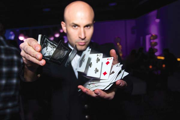 Magician Seth Grabel • Sunday and Wednesday; photo provided by Maui Theatre