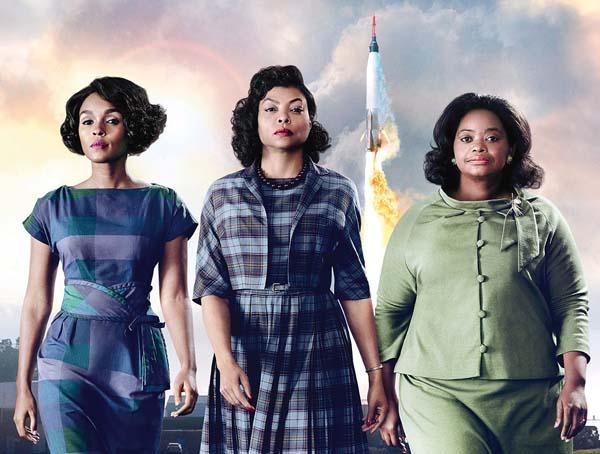 """Janelle Monae, Taraji P. Henson and Octavia Spencer star in """"Hidden Figures."""" Photo courtesy Maui Film Festival"""