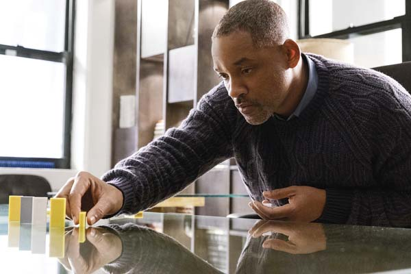 """Will Smith stars in """"Collateral Beauty."""" Warner Bros. photo via AP"""