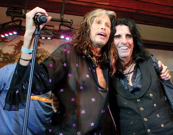 Catch Steven Tyler and  Alice Cooper at Wailea Beach Resort.  Stephen Holding photo