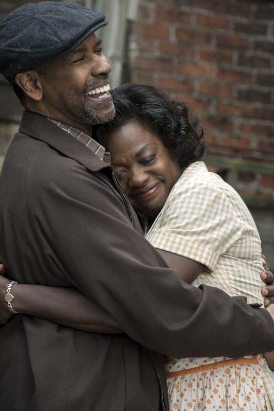 "Denzel Washington and Viola Davis star in ""Fences."" Paramount Pictures photo via AP"