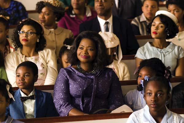 "Octavia Spencer stars in ""Hidden Figures."" Twentieth Century Fox photo via AP"