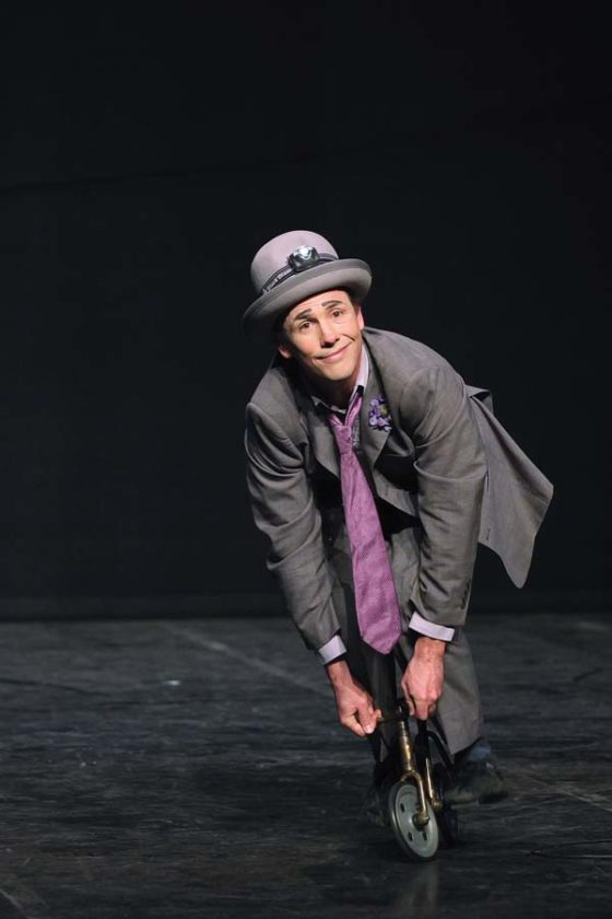 Virtuoso clown Jamie Adkins will perform at the Maui Arts &Cultural Center on Saturday. Photo courtesy MACC