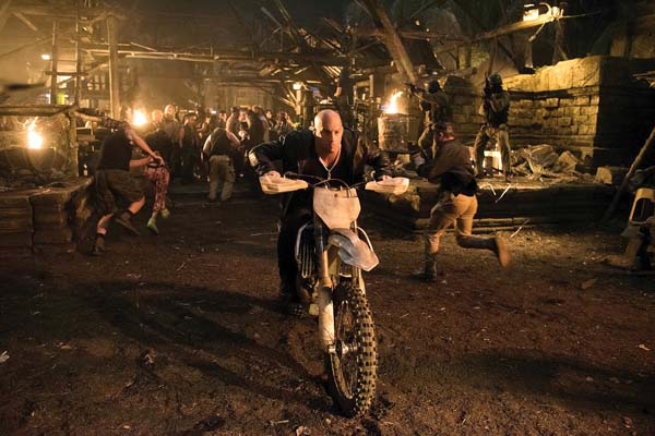 """Vin Diesel stars in """"XXX: The Return of Xander Cage."""" Paramount Pictures photo via AP"""
