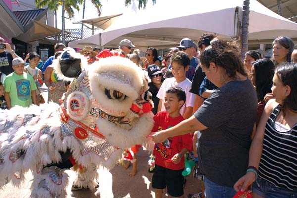 Chinese New Year Festival at Maui Mall on Saturday; photo by Melanie N. Agrabante.