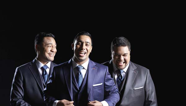 Samoan operatic trio Sol3 Mio • Sunday; photo provided by MACC.