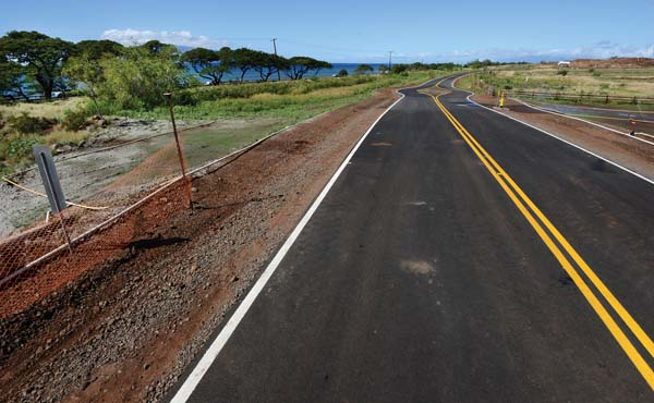 Public access for this 38-acre undevelopable agricultural lot, part of the Makila Ranches project in Launiupoko, was debated in the Maui Planning Commission on Tuesday. The developer is seeking to remove a condition requiring access to the lot after a deal to purchase the lot by the county fell through. The Maui News / MATTHEW THAYER photo