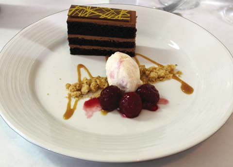 The Leis Family Class Act's recent chocolate dessert and   The Maui News  / CARLA TRACY photo