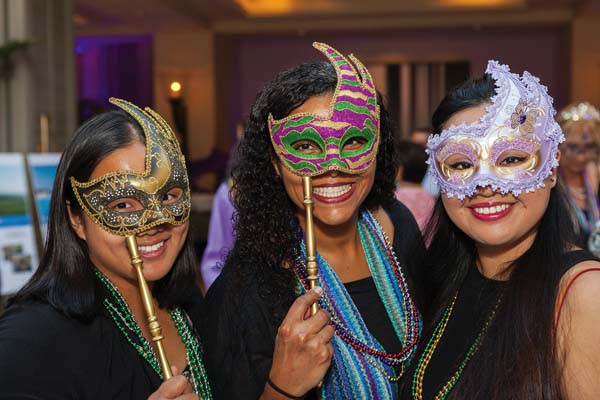 Maui AIDS Foundation's sixth Mardi Gras benefit; photo by Adi Ell-Ad of Adiwood Studios.