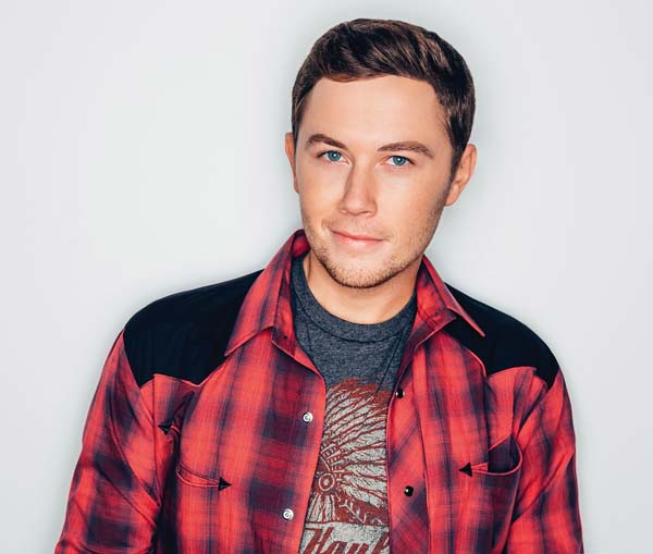 Country singer Scotty McCreery • Wednesday; photo provided by MACC.