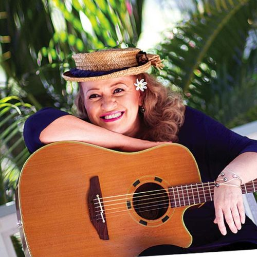 See Robi Kahakalau at the free Lahaina Music Series today; photo provided by Lahaina Restoration Foundation.