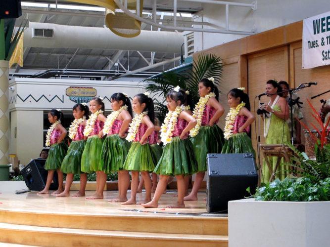 Keiki hula show