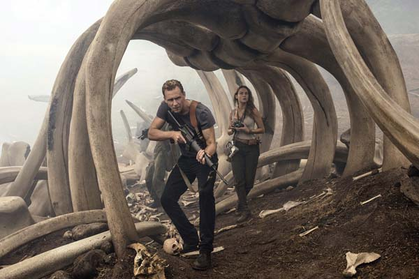 """Tom Hiddleston and Brie Larson star in """"Kong: Skull Island."""" WarnerBros.Pictures photo via AP"""