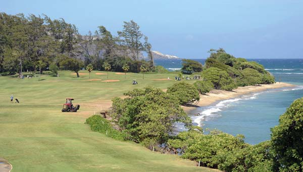 Arakawa proposed closing the 87-year-old Waiehu Municipal Golf Course as a cost- saving measure. The 18-hole course spreads across 174.1 acres and sits at the end of Halewaiu Road, bordering the Waihe'e Coastal Dunes & Wetlands Refuge. The Maui News / MATTHEW THAYER photo