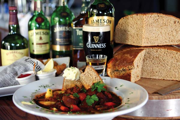 Irish lamb stew and Harp-battered fish 'n' chips will be among authentic offerings. Mulligans on the Blue photo