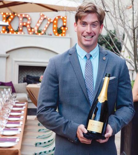 Sommelier Caleb Hopkins is the new general manager of Down the Hatch. Down the Hatch photo
