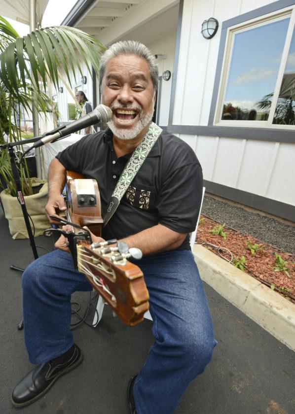 Kula musician Mitch Kepa • The Maui News / MATTHEW THAYER photo