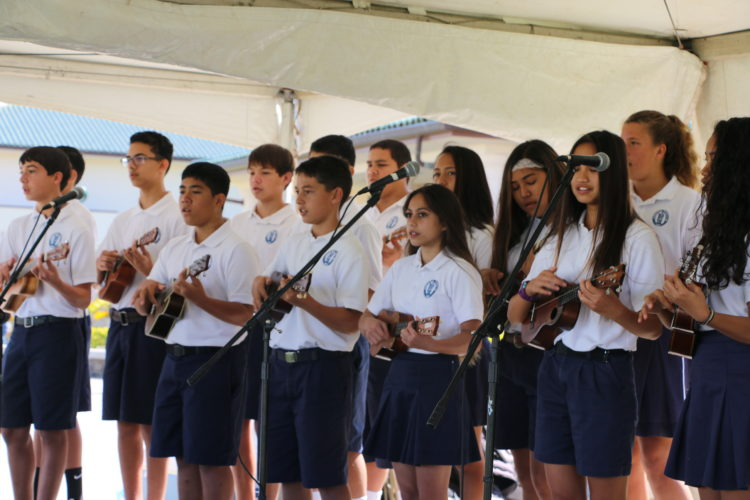 Kamehameha Schools Maui Ho'olaule'a; photo provided by Lokelani Patrick.