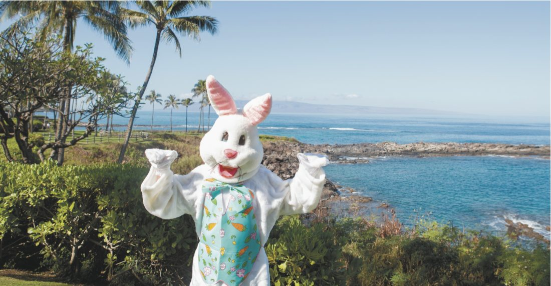 Montage Kapalua Bay will offer three dining options for Easter from an a la carte  brunch and dinner buffet in its Cane & Canoe to a private affair in the famed Cliff House. * Montage Kapalua Bay photo